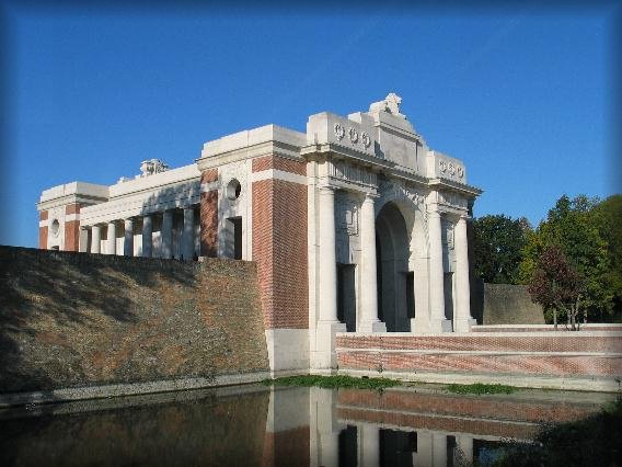 The Menin Gate Memorial to the Missing, Ieper