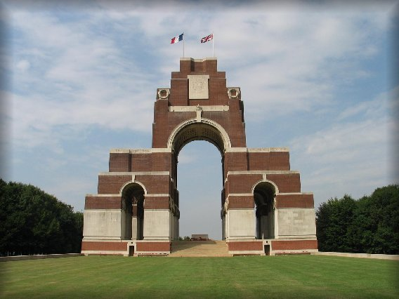The Memorial to the Missing of the Somme, Thiepval